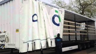 Schiebeplane Krone Antivandal CS Cargo