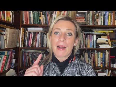 НЕ ПОКАЯЛСЯ! Мария Захарова у Соловьева про Навального - Видео онлайн