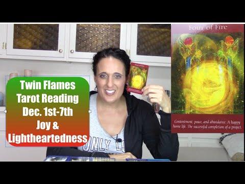 Twin Flames Tarot Reading Dec.1st-7th for DF & DM