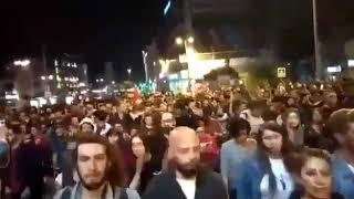 فيديو.. تظاهرات بتركيا احتجاجا على قرار إعادة الانتخابات