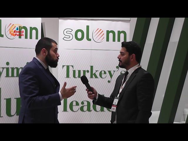 Solonn Enerji, SOLAREX İstanbul 2018-Enerji Portalı Ropörtajı
