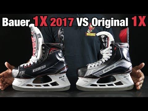 Bauer Vapor 1X 2017 VS Original 1X Hockey Skate review - What has changed?