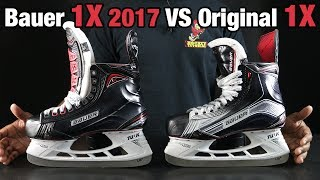 Bauer Vapor 1X 2017 VS Original 1X Hockey Skate review - What has changed?