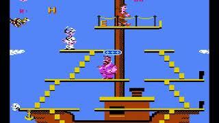 Atari 7800 Popeye - Quick & dirty ship logic
