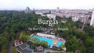 Burgas - The best city to live in Bulgaria (Aerial Video)(Burgas - The best city to live in Bulgaria. Aerial drone video footage. Бургас - най-добрият град за живеене в България., 2016-08-13T16:39:36.000Z)