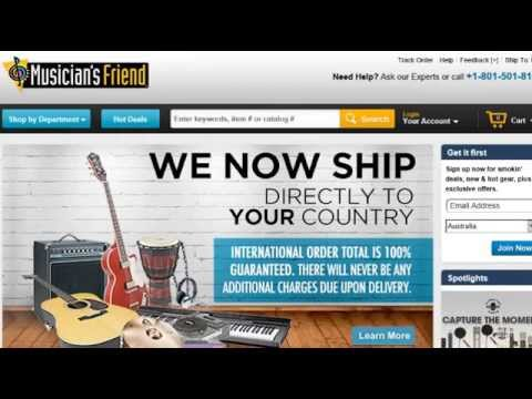 Musicians Friend Coupon 2015 - MusiciansFriend.com Sales, How To