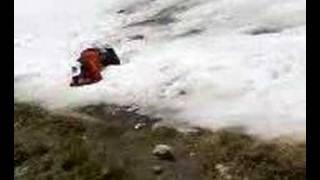 ostia en medio de la nieve