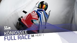 KÖnigssee | BMW IBSF World Cup 2018/2019 - 2-Man Bobsleigh Heat 1 | IBSF Official