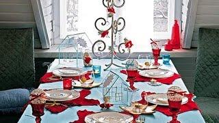 Новый год Как украсить новогодний стол