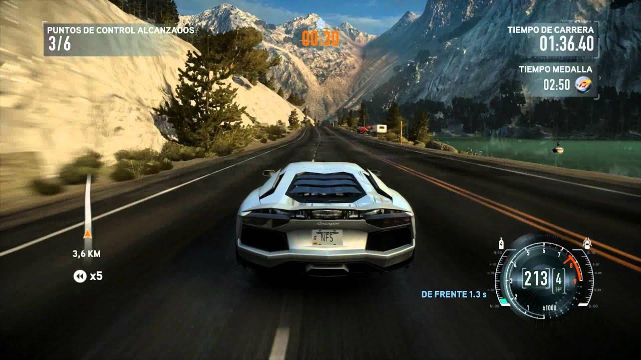 Need For Speed The Run Lamborghini Aventador Youtube