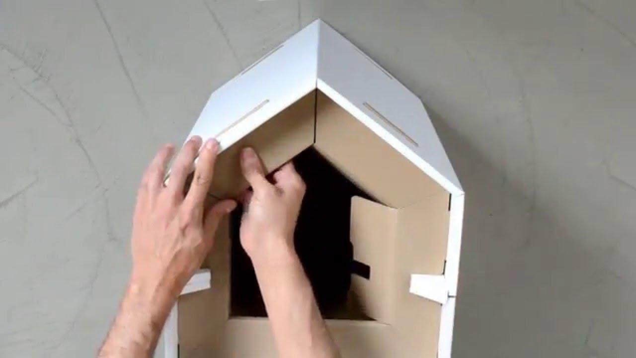 Casette di cartone per gatti qz73 regardsdefemmes - Casette di cartone da costruire ...