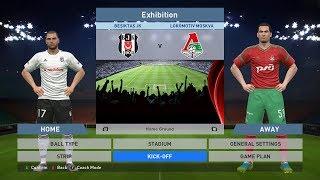 Besiktas JK vs Lokomotiv Moskva, BJK Vodafone Park, PES 2016, PRO EVOLUTION SOCCER 2016, Konami, PC