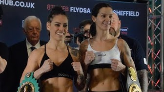Eva Wahlström vs Terri Harper - FULL weigh in!