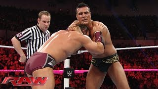 Neville vs. Alberto Del Rio: Raw, October 26, 2015