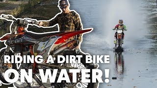How Does Robbie Maddison Ride On Water? | Red Bull Knock Out BTS
