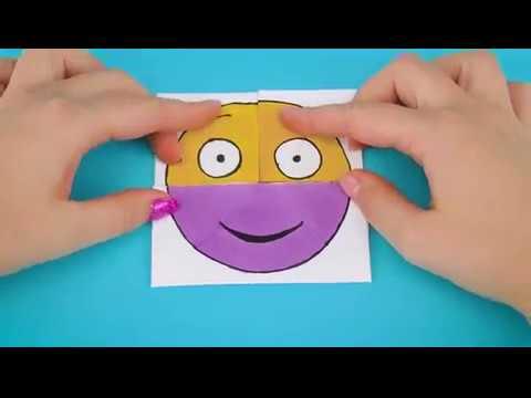 Emoji Diy Paper Magic Card   Face Changer
