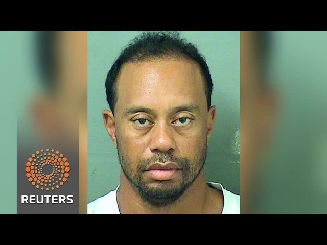Tiger Woods arrested on reported DUI charge