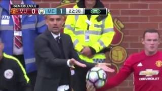 Manchester United Vs Manchester City 1-2 All Goals & Highlights 10/09/2016