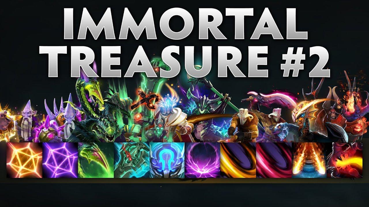 Dota 2 Immortal Treasure Ii: Immortal Treasure 2 Spotlight