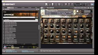 Video Review of Native Instruments Heavyocity Damage Sound Library For Kontakt
