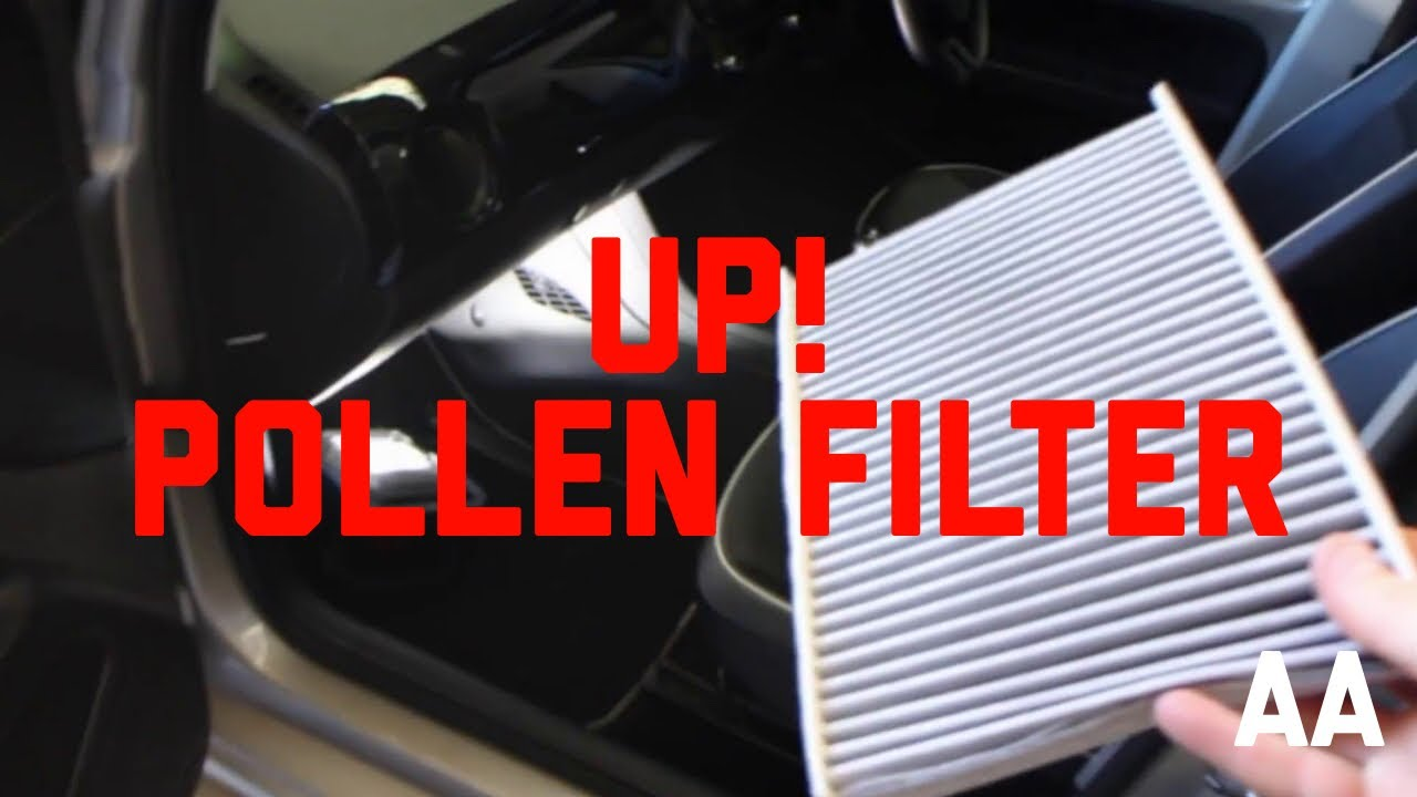how to replace cabin pollen filter volkswagen vw up youtube. Black Bedroom Furniture Sets. Home Design Ideas
