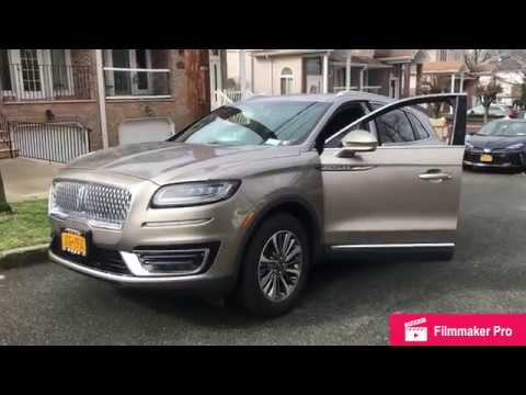 2019 Lincoln Nautlus 2.0T Select Review- Startup- In Depth Tour