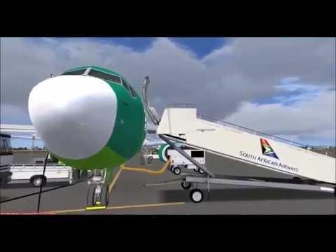 [FSX] CAW214 | FAPE (Port Elizabeth) - FACT (Cape Town) | PMDG 737 | Part 1