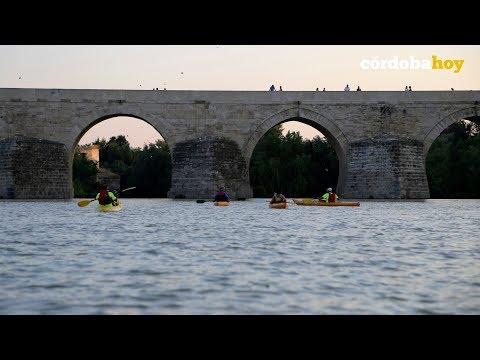 Un paseo en piragua por la historia y la naturaleza sobre el Río Guadalquivir