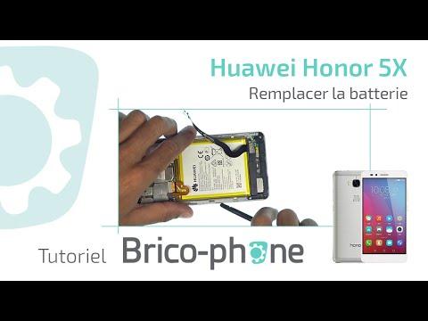 Tutoriel Huawei Honor 5X : remplacer la batterie (HD)