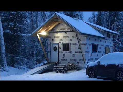 One Man Builds Off Grid Cabin In Alaska