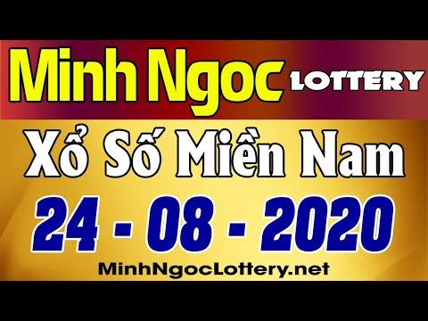 Minh Ngoc Lottery Kết Quả Xổ Số Miền Nam Xsmn Thứ 3 25 08 2020 Youtube
