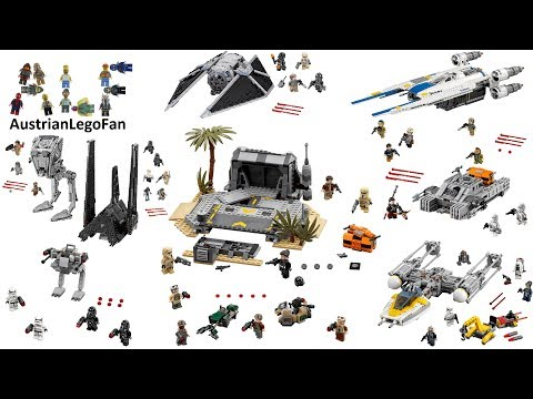 All Lego Star Wars Rogue One Sets so far ( june 2017 ) - Lego Speed Build Review