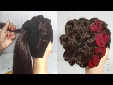 Juda Hairstyle For Wedding Party Perfect Bridal Bun Step By Step
