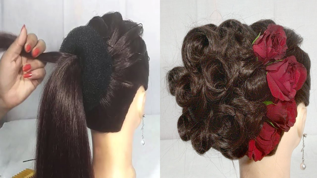 Juda Hairstyle For Wedding/party