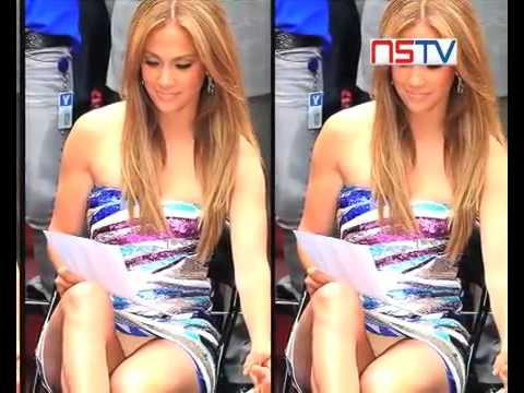 Jennifer Lopez Loves Upskirt Moments