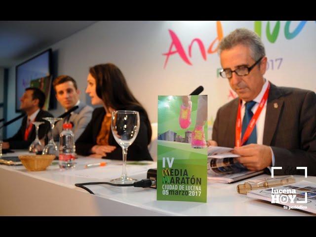 VÍDEO: Lucena lleva FITUR su proyecto de Turismo Accesible y la Media Maratón. Resumen de la tercera jornada en FITUR de la delegación lucentina