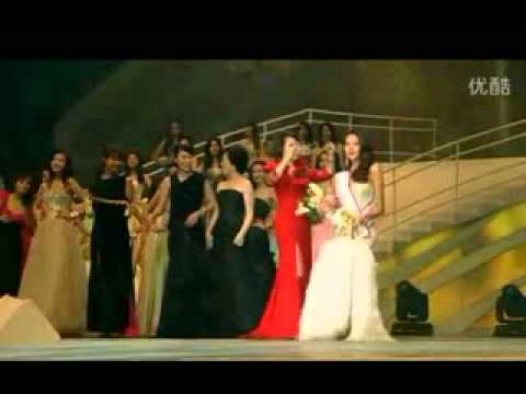 Miss Universe China 2011 crowning moment - Luo Zilin