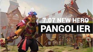 Dota 2 New Hero - Pangolier - The Dualing Fates Update - 7.07 Patch