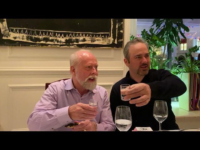 Richard and David Reichelt first shot of Russia Vodka