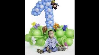 украшения шарами  на день рождения ребенкаАлматы(, 2015-06-19T09:08:07.000Z)