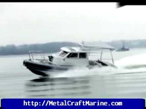 MetalCraft Marine Kingston 32 Patrol RHIB