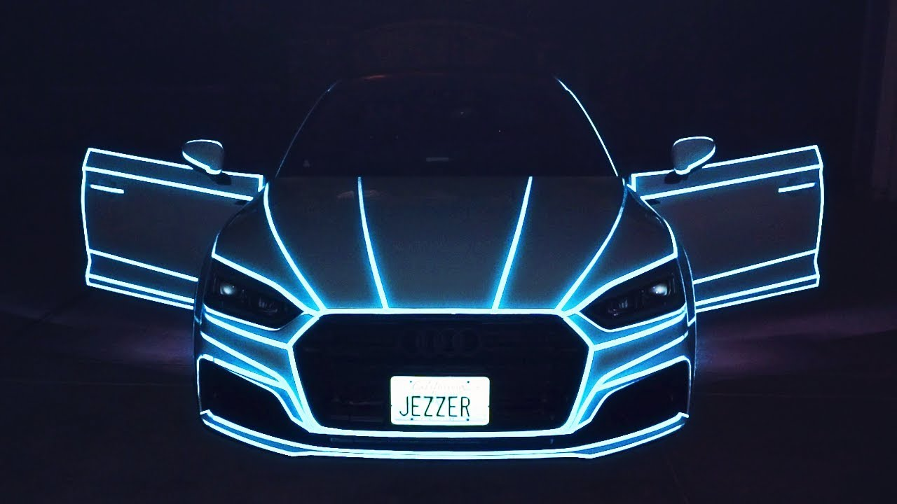 2HYPE REACTS TO NEW TRON LIGHTS ... & 2HYPE REACTS TO NEW TRON LIGHTS ON MY CAR!! - YouTube