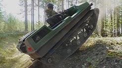 Little tank! New tracked ATV Tinger S500