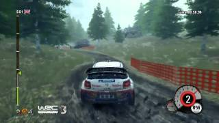 WRC 3 - Wales Track Gameplay