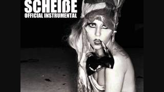Lady Gaga - Scheiße (Official Instrumental) + Download Link
