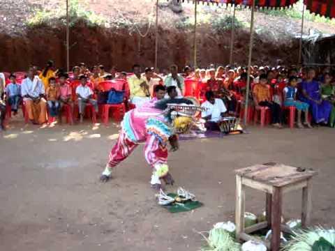 "BHOOTA KOLA - Rajan Daiva ""Shiradi Bhoota"" Kola held at Baramelu-Koila, Koila Village, Puttur Taluk"