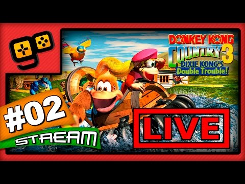 Let's Stream: Donkey Kong Country 3 - Parte 2