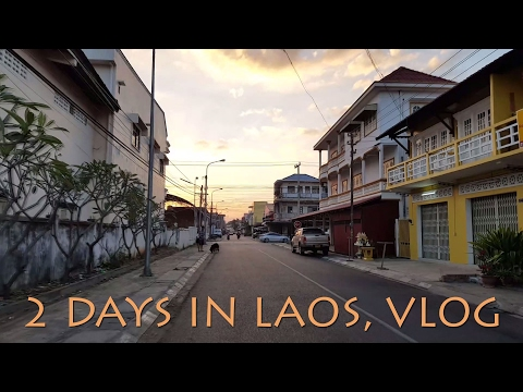 Vlog. Travel to Laos, walking around and talking about changes in last 6 months