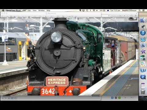 Australian Trains: Steam through Sydney