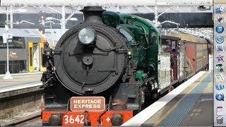 Australian Trains: Steam through Sydney